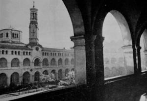 Convento della Visitazione. Fotografia degli anni Sessanta del Novecento © Archivio Storico della Città di Torino (?)
