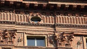 Facciata di Palazzo Carignano. Fotografia diPaolo Mussat Sartor e Paolo Pellion di Persano, 2010. © MuseoTorino-Soprintendenza per i Beni Storici, Artistici ed Etnoantropologici del Piemonte