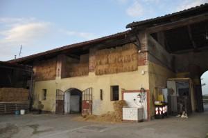 Interno della cascina Perrone. Fotografia di Ilenia Zappavigna, 2012.