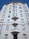 Contardo Bonicelli, Case Bocca e Comoglio, 1929. Particolare dei balconi. Fotografia L&M, 2011.