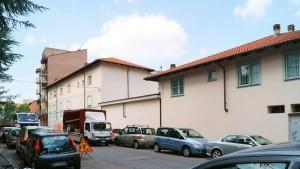 Ex edificio industriale Sacsa, appartamenti in via Mollieres 21. Fotografia di Luca Davico, 2015