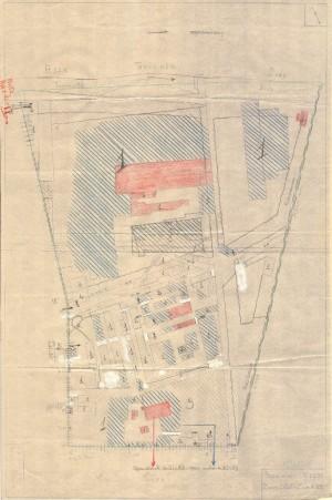 Bombardamenti aerei. Censimento edifici danneggiati o distrutti. ASCT Fondo danni di guerra inv. 1109 cart. 23 fasc. 3. © Archivio Storico della Città di Torino