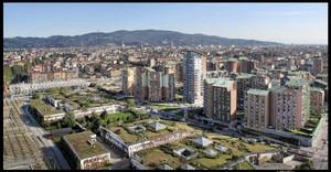 La zona residenziale Parco Dora presso il comprensorio Spina 3. Fotografia di Michele D'Ottavio, 2010. © MuseoTorino.