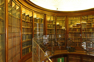 Biblioteca Reale. Fotografia di Dario Lanzardo, 2010. © MuseoTorino / MIBAC