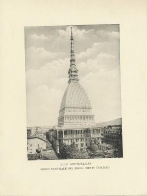 Mole Antonelliana, sede del Museo del Risorgimento, 1908. © Archivio Storico della Città di Torino
