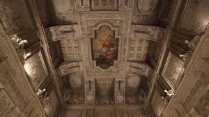 Sala del Senato di Palazzo Madama. Fotografia diPaolo Mussat Sartor e Paolo Pellion di Persano, 2010. © MuseoTorino