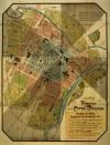 Pianta della città di Torino, 1910 circa