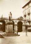 Giovanni Albertoni, Monumento a Giuseppe Luigi Lagrange, 1867. Fotografia di Mario Gabinio, 15 settembre 1924. © Fondazione Torino Musei - Archivio Fotografico.