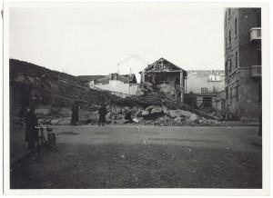 Via Brione 1-3. Effetti prodotti dai bombardamenti dell'incursione aerea del 18-19 novembre 1942. UPA 1553_9A05-37. © Archivio Storico della Città di Torino