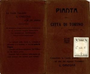 Pianta della città di Torino, 1910 circa. Biblioteca civica centrale, Cartografico  3/4.12.01 © Biblioteche civiche torinesi