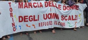 Marcia delle Donne e degli Uomini Scalzi
