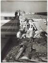 FIAT Autocentro - Stabilimento di Mirafiori. Effetti prodotti dal bombardamento dell'incursione aerea del 20-21 novembre 1942. UPA 2202_9B06-09. © Archivio Storico della Città di Torino