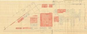Bombardamenti aerei. Censimento edifici danneggiati o distrutti. ASCT Fondo danni di guerra inv. 773 cart. 16 fasc. 9. © Archivio Storico della Città di Torino