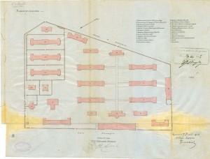 «Piano d'insieme».© Archivio Storico della Città di Torino