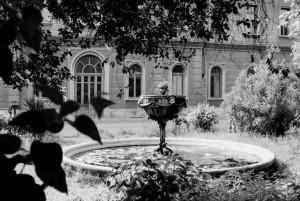 OGR. Fontana sul fronte interno, anni '80-'90. Fotografia Pier Paolo Viola. © Museo Ferroviario Piemontese per MuseoTorino