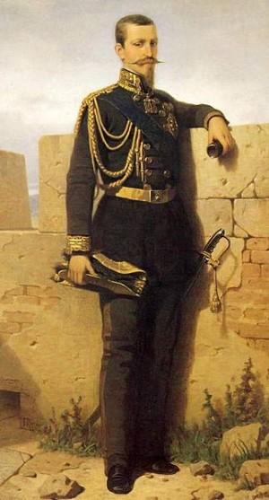 Ritratto di Ferdinando di Savoia, duca di Genova.