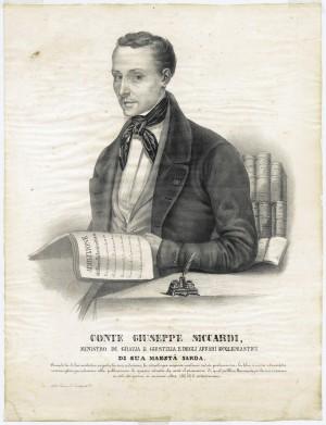 Giuseppe Siccardi (Verzuolo 3 ottobre 1802 - Torino 29 ottobre 1857)