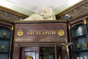 Farmacia Algostino De Michelis, particolare interno, 2017 © Archivio Storico della Città di Torino