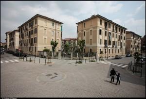 Veduta aerea del 10° Quartiere IACP. Fotografia di Michele D'Ottavio, 2011. © MuseoTorino