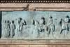 Giovanni Duprè, Monumento a Camillo Benso Conte di Cavour (bassorilievo raffigurante il ritorno delle truppe sarde dalla Crimea), 1865-73. Fotografia di Mattia Boero, 2010. © MuseoTorino.