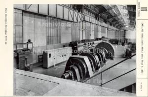 Ferriere Fiat Ingest: immagine d'archivio della sala macchine di controllo del blooming 1100mm. Fotografia Archivio Storico Fiat, Sezione Ferriere, Impianti realizzati nel 1946 + 1963.