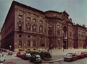 Palazzo Carignano, facciata.