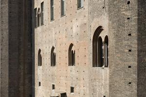 Castello di Porta Fibellona (Palazzo Madama, particolare, 2). Fotografia di Marco Saroldi, 2010. © MuseoTorino.