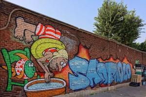 MKE, murales senza titolo, 2013, via Vigone