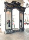 Ceretto, bacheca della gioielleria-argenteria