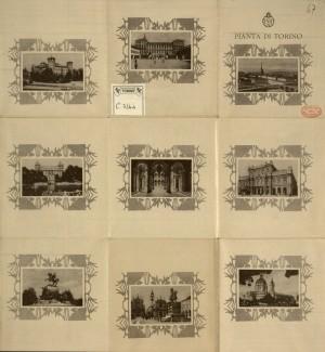 Pianta di Torino, 1930 circa. Biblioteca civica centrale, Cartografico 3/4.4.02 © Biblioteche civiche torinesi
