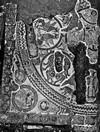 Mosaico di San Salvatore al momento della scoperta nel 1909. © Soprintendenza per i Beni Archeologici del Piemonte e del Museo Antichità Egizie