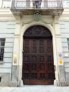 Palazzo Capris di Ciglié in via Santa Maria 1, portone. Fotografia di Paola Boccalatte, 2014. © MuseoTorino