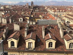 Veduta da una terrazza di via Corte d'Appello. Fotografia di Laura Tori, 2020