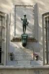 Piazza Abba lapide dei caduti delle guerre mondiali. Fotografia Giuseppe Beraudo, 2009