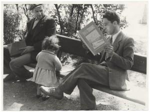 Lettori e libri al Giardino di lettura Alberto Geisser