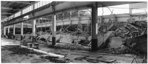 S.L. FIAT Autocentro - Stabilimento di Mirafiori. Effetti prodotti dai bombardamenti dell'incursione aerea del 20-21 novembre 1942. UPA 2114_9F02-17. © Archivio Storico della Città di Torino