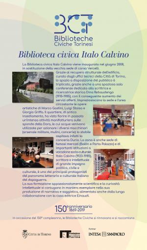 1869-2019. Biblioteca civica Italo Calvino