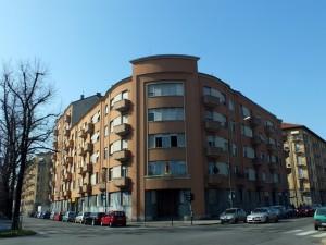 Edificio di civile abitazione in corso Lecce 57, già Cassa Mutua dell'Industria
