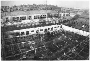 Via Cigna 115. Stabilimento FIAT, Sezione Ind. Metallurgiche (S.I.M.A.). Effetti prodotti dai bombardamenti dell'incursione aerea del 29-30 novembre1942. UPA 2458D_9F02-28. © Archivio Storico della Città di Torino