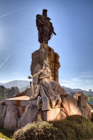 Odoardo Tabacchi, Monumento a Giuseppe Garibaldi (1), 1887. Fotografia di Mattia Boero, 2010. © MuseoTorino.