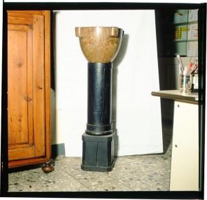 Regia farmacia Masino, mortaio in pietra, 1998 © Regione Piemonte
