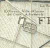 Cascina Olivero. Amedeo Grossi, Carta Corografica dimostrativa del territorio della Città di Torino, 1791. © Archivio Storico della Città di Torino