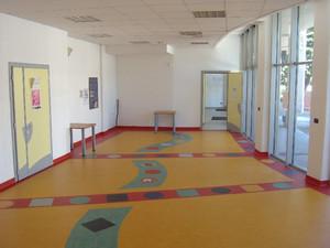 L'attuale palestra di psicomotricità. Fotografia di Davide Anselmo, marzo e settembre 2010. © MuseoTorino