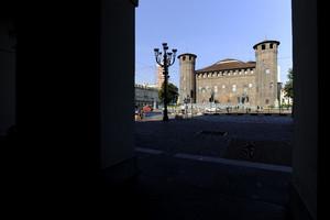 Scorcio di Castello di Porta Fibellona (Palazzo Madama, 2). Fotografia di Paolo Gonella, 2010. © MuseoTorino.