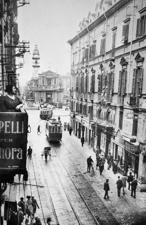 Via Roma, tra 1908 e prima degli anni Venti
