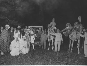 Circolo degli Artisti, Festa tripolina all'Eridano, 1936 © Circolo degli Artisti di Torino