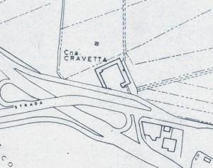 Cascina Cravetta. Istituto Geografico Militare, Pianta di Torino, 1974. © Archivio Storico della Città di Torino