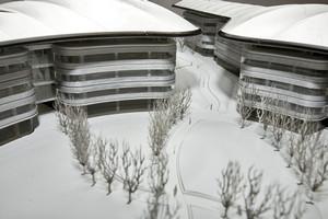 Vista della corte interna del nuovo complesso che ospiterà le sedi di Giurisprudenza e Scienze Politiche dell'Università degli Studi di Torino (modello). © Camerana & Partners