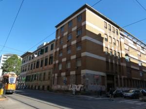Edificio pubblico già farmacia Maria Vittoria. Fotografia di Anna Maria Colace, 2013