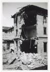 Via Cristoforo Colombo 38 angolo Corso Duca degli Abruzzi, crollo di edifici.  Effetti prodotti dai bombardamenti dell'incursione aerea del 4 giugno 1944. UPA 4609_9E06_48. © Archivio Storico della Città di Torino